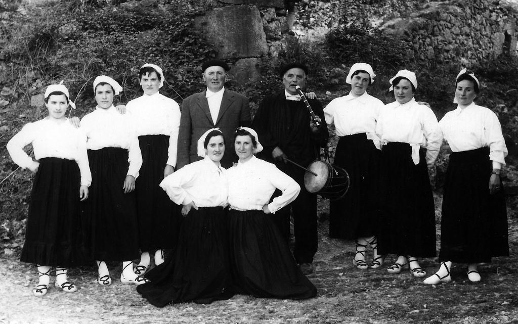 Mujeres del Ingurutxo hace años