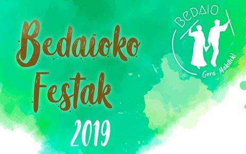 Bedaioko Festak 2019